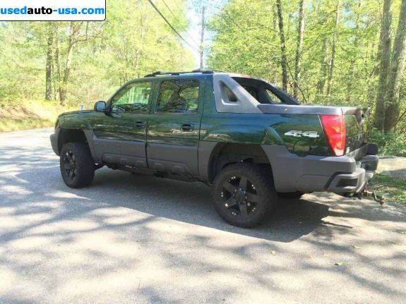 Car Market in USA - For Sale 2003  Chevrolet Avalanche