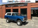 Car Market in USA - For Sale 1970  Chevrolet Blazer