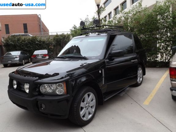 Car Market in USA - For Sale 2006  Land Rover Range Rover