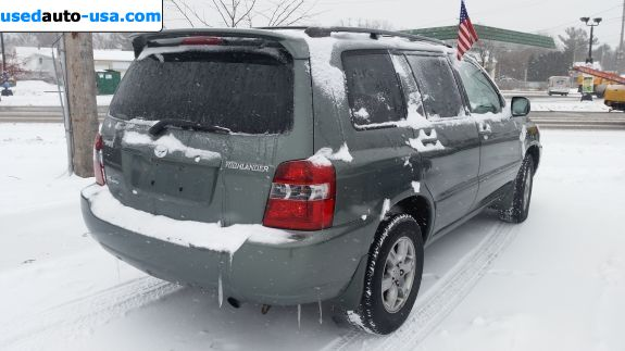 Car Market in USA - For Sale 2005  Toyota Highlander V6 4x4