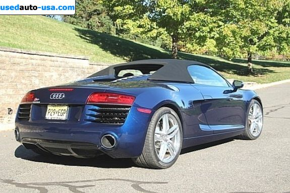 Car Market in USA - For Sale 2014  Audi R8 V8 quattro Spyder 2dr Convertible AWD (4.2L 8cyl 6
