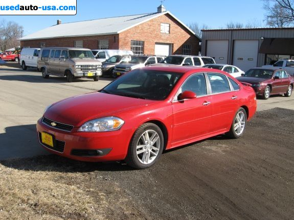 Car Market in USA - For Sale 2009  Chevrolet Impala LTZ
