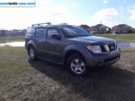 Car Market in USA - For Sale 2006  Nissan Pathfinder 4.0 S