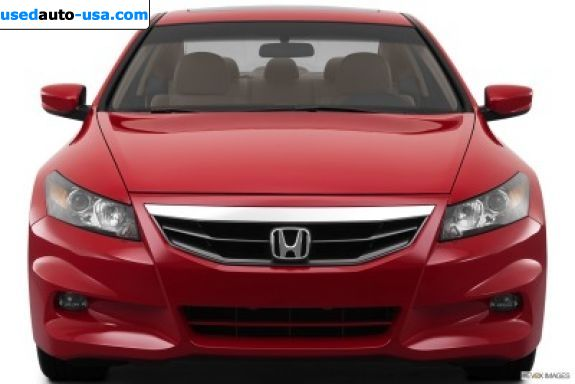 Car Market in USA - For Sale 2012  Honda Accord Coupe EX-L V-6 Automatic