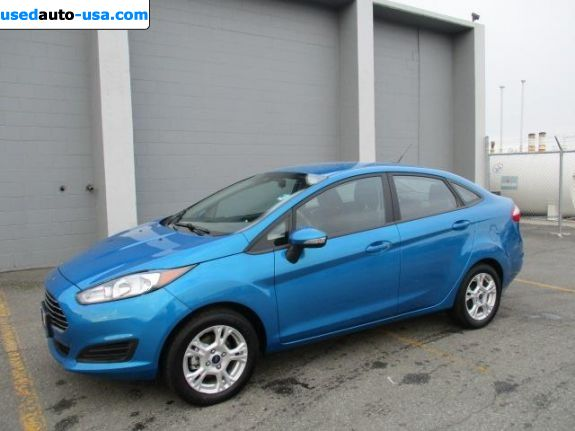 Car Market in USA - For Sale 2015  Ford Fiesta S 4dr Sedan (1.6L 4cyl 5M)