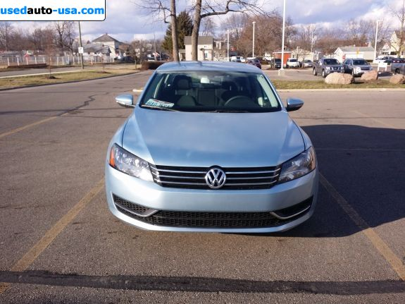 Car Market in USA - For Sale 2012  Volkswagen Passat 2.5 S Automatic