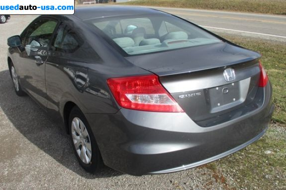 Car Market in USA - For Sale 2012  Honda Civic LX