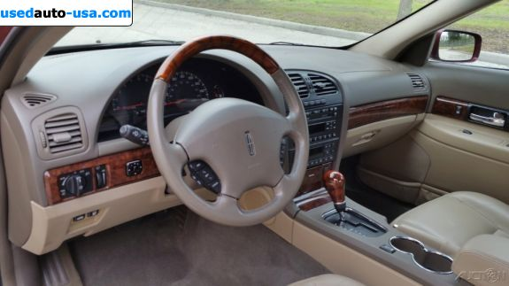 Car Market in USA - For Sale 2002  Lincoln LS