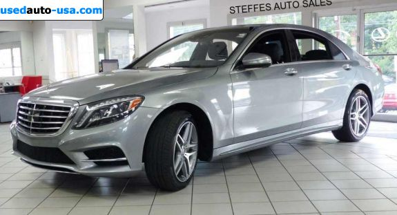 Car Market in USA - For Sale 2014  Mercedes S 2014 Mercedes-Benz S-Class S550