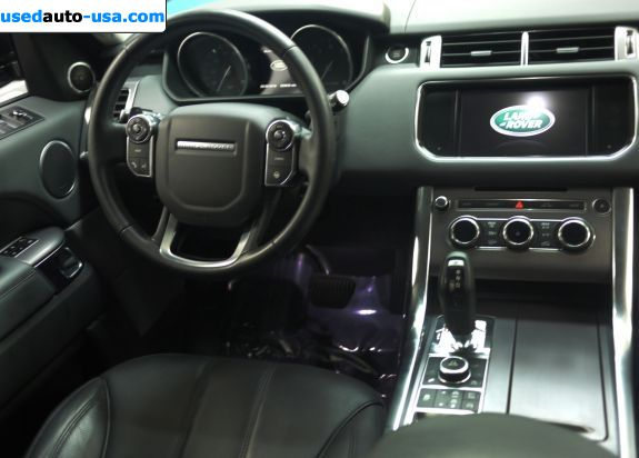 Car Market in USA - For Sale 2014  Land Rover Range Rover Sport Supercharged