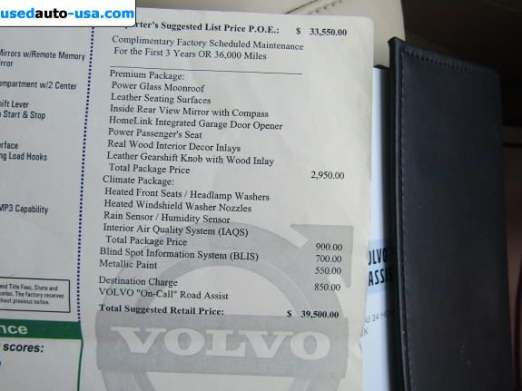 Car Market in USA - For Sale 2010  Volvo V70 3.2