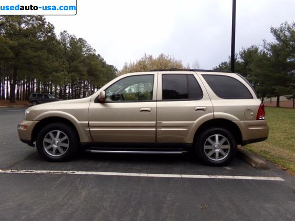 Car Market in USA - For Sale 2004  Buick Rainier CXL