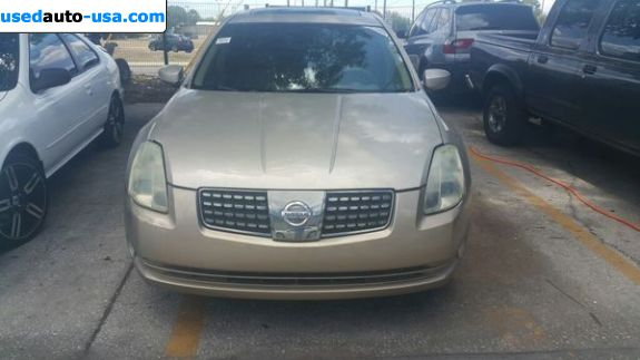Car Market in USA - For Sale 2004  Nissan Maxima