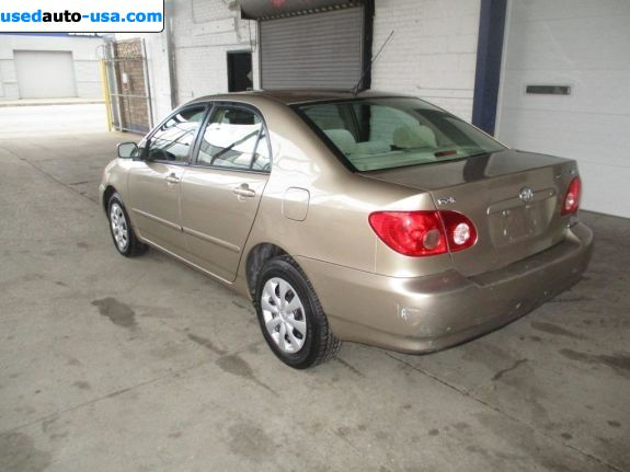 Car Market in USA - For Sale 2007  Toyota Corolla LE