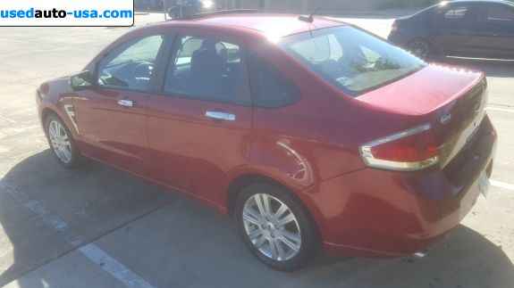 Car Market in USA - For Sale 2009  Ford Focus SEL