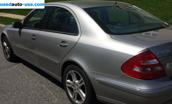 Car Market in USA - For Sale 2006  Mercedes E 2006 Mercedes-Benz E-Class E350 4MATIC