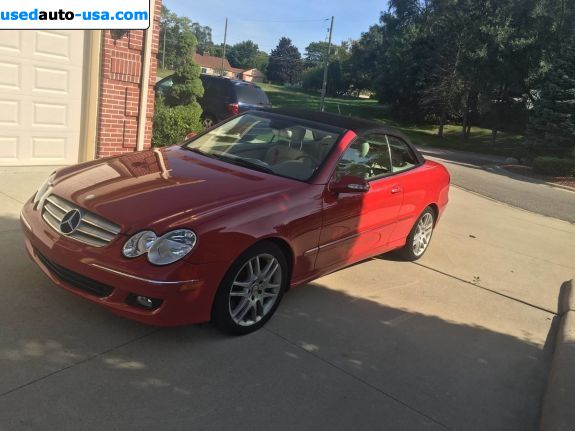 Car Market in USA - For Sale 2008  Mercedes CLK 2008 Mercedes-Benz CLK-Class CLK350 - Convertible
