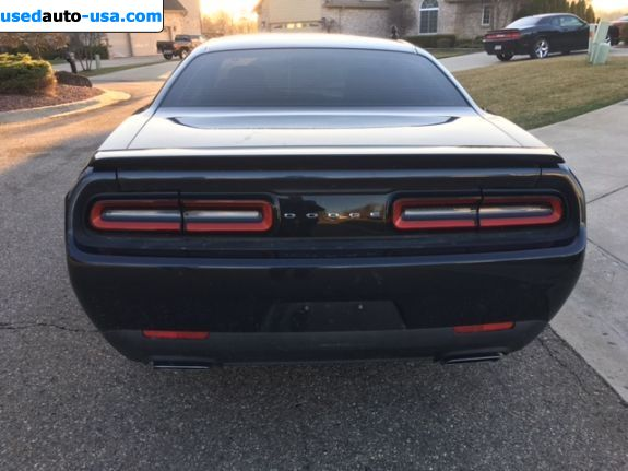 Car Market in USA - For Sale 2016  Dodge Challenger R/T - Coupe