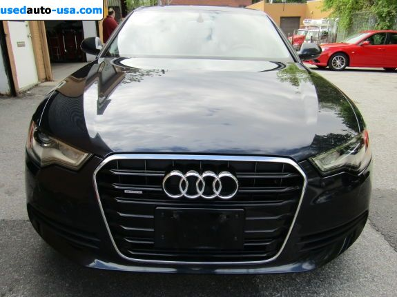Car Market in USA - For Sale 2012  Audi A6 3.0T Premium quattro