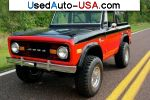 Car Market in USA - For Sale 1972  Ford Bronco