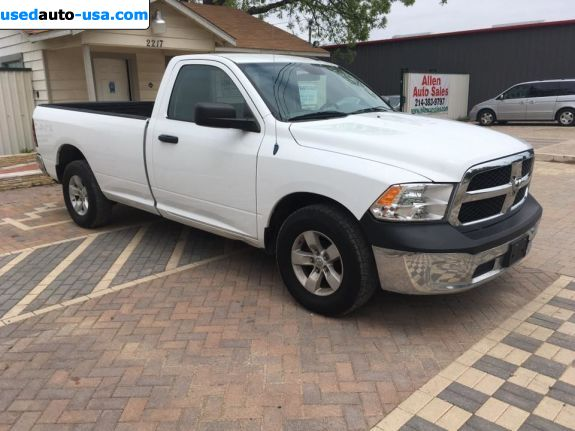 Car Market in USA - For Sale 2013   1500 Tradesman