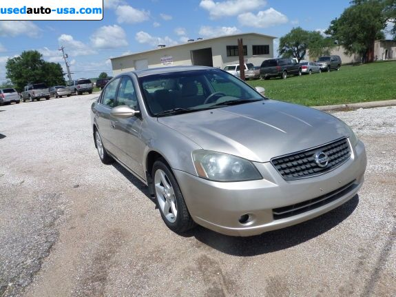 Car Market in USA - For Sale 2005  Nissan Altima 3.5 SE - Sedan