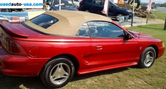 Car Market in USA - For Sale 1998  Ford Mustang Base - Convertible