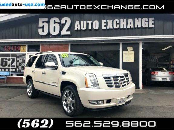 Car Market in USA - For Sale 2007  Cadillac Escalade Base