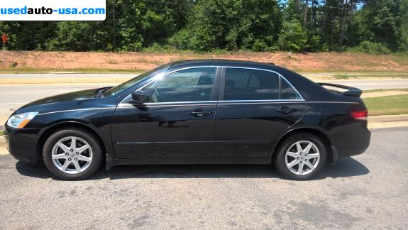 Car Market in USA - For Sale 2004  Honda Accord EX V-6 - Sedan