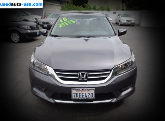 Car Market in USA - For Sale 2015  Honda Accord Sport - Sedan
