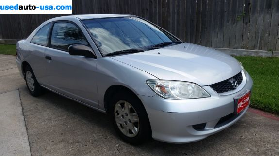 Car Market in USA - For Sale 2004  Honda Civic Value Package