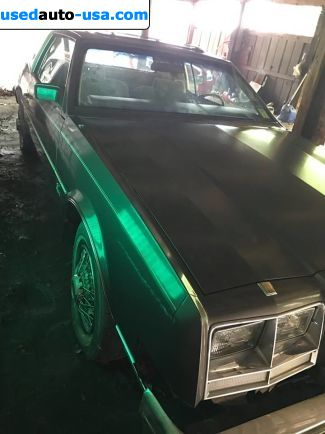 Car Market in USA - For Sale 1984  Buick Riviera