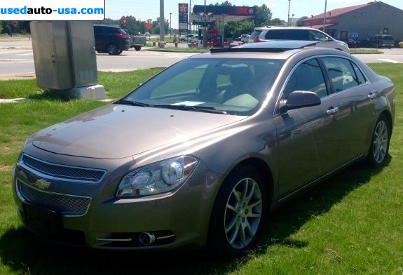 Car Market in USA - For Sale 2010  Chevrolet Malibu LTZ