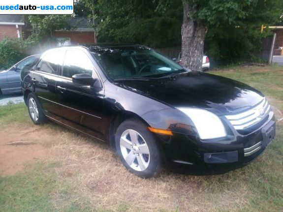 Car Market in USA - For Sale 2008  Ford Fusion SE