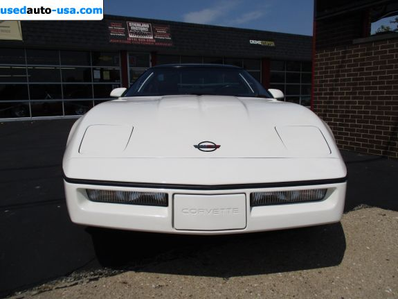Car Market in USA - For Sale 1985  Chevrolet Corvette