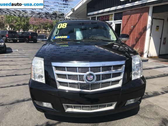 Car Market in USA - For Sale 2008  Cadillac Escalade Platinum Edition