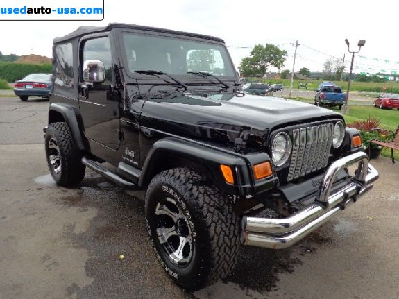 Car Market in USA - For Sale 2005  Jeep Wrangler X