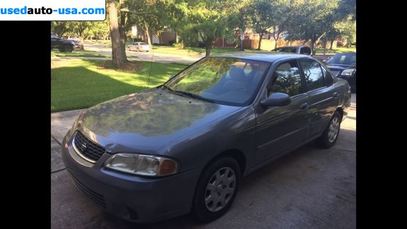Car Market in USA - For Sale 2001  Nissan Sentra XE