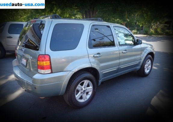 Car Market in USA - For Sale 2007  Ford Escape Limited - 4dr SUV