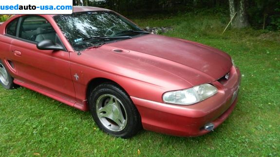 Car Market in USA - For Sale 1998  Ford Mustang Base - Coupe