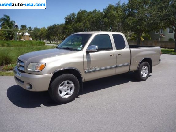 Car Market in USA - For Sale 2003  Toyota Tundra SR5