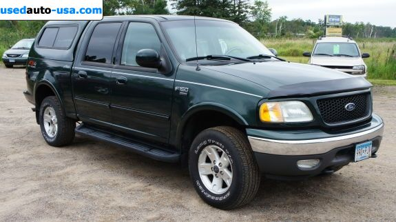 Car Market in USA - For Sale 2002  Ford F 150 XLT - Crew Cab Pickup