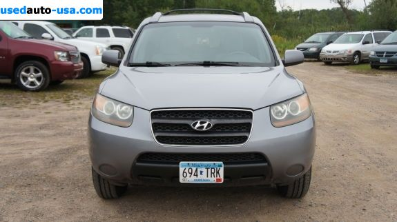 Car Market in USA - For Sale 2007  Hyundai Santa Fe GLS