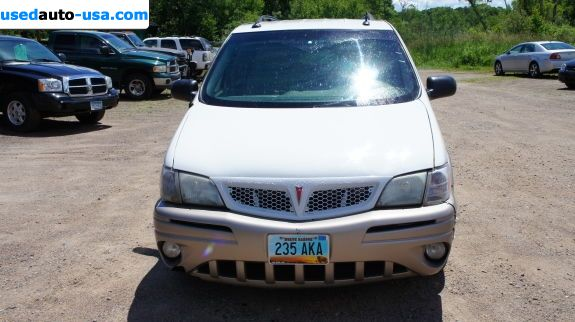 Car Market in USA - For Sale 2004  Pontiac Montana MontanaVision
