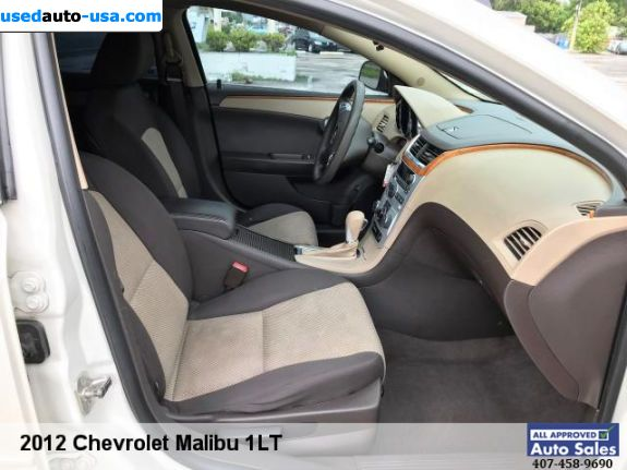 Car Market in USA - For Sale 2012  Chevrolet Malibu LT