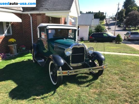 Car Market in USA - For Sale 1928   Model A