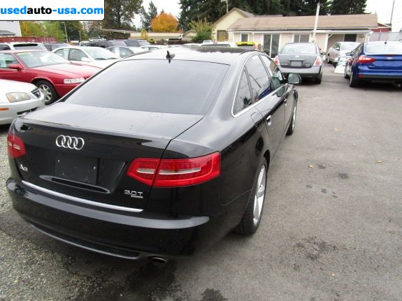 Car Market in USA - For Sale 2011  Audi A6 3.0T Premium quattro