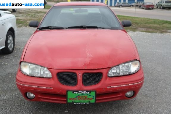 Car Market in USA - For Sale 1997  Pontiac Grand Am SE - Sedan