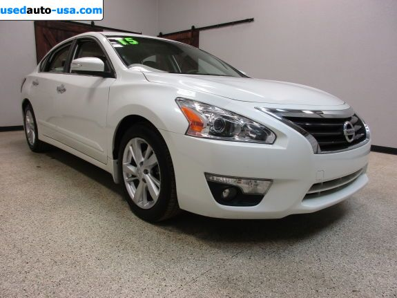 Car Market in USA - For Sale 2015  Nissan Altima