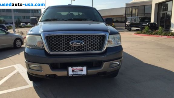 Car Market in USA - For Sale 2004  Ford F 150 Lariat